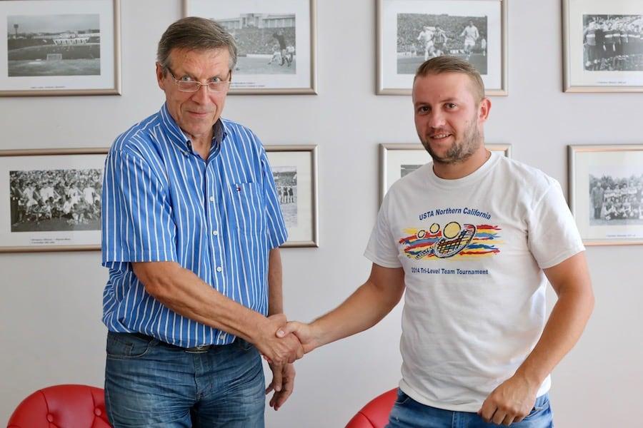 Дмитрий Тышковский и Михаил Вергеенко