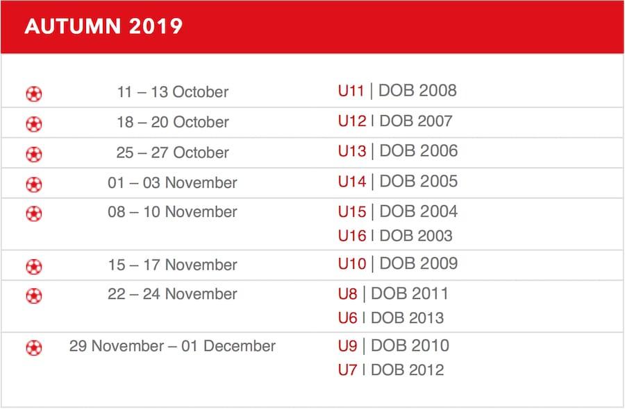 Календарь Ateitis Cup 2019